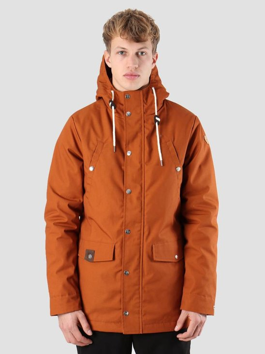 RVLT Leif Parka Jacket Orange 7246