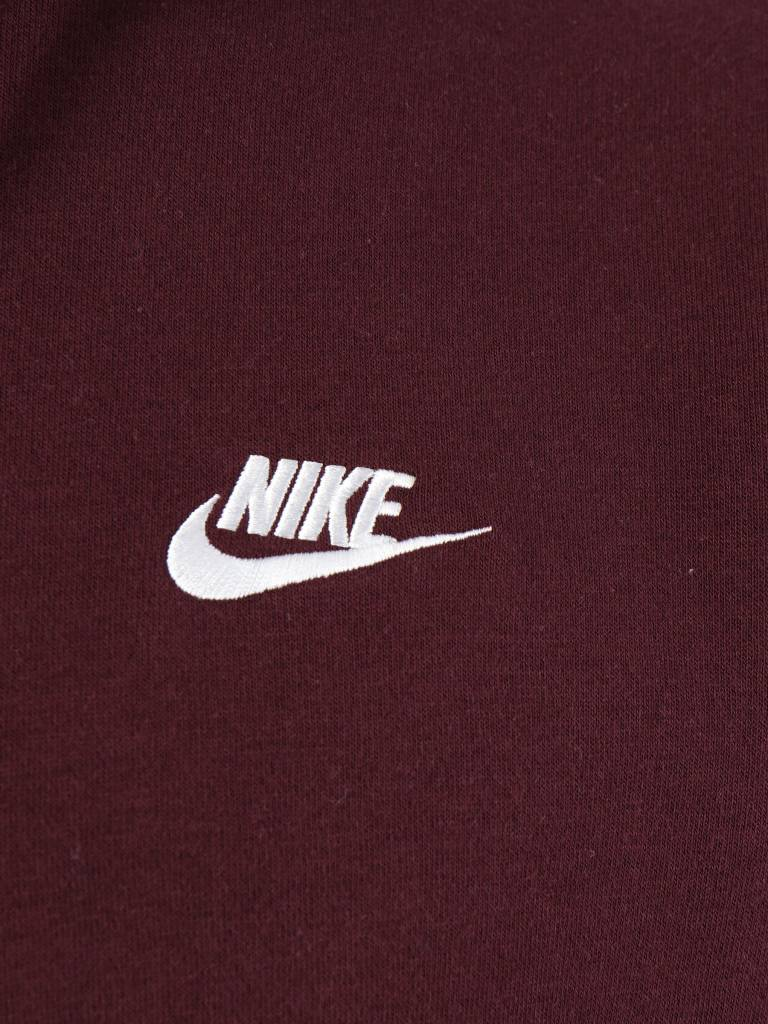 Nike Nike NSW Hoodie Burgundy Crush  Burgundy Crush White 804346-653