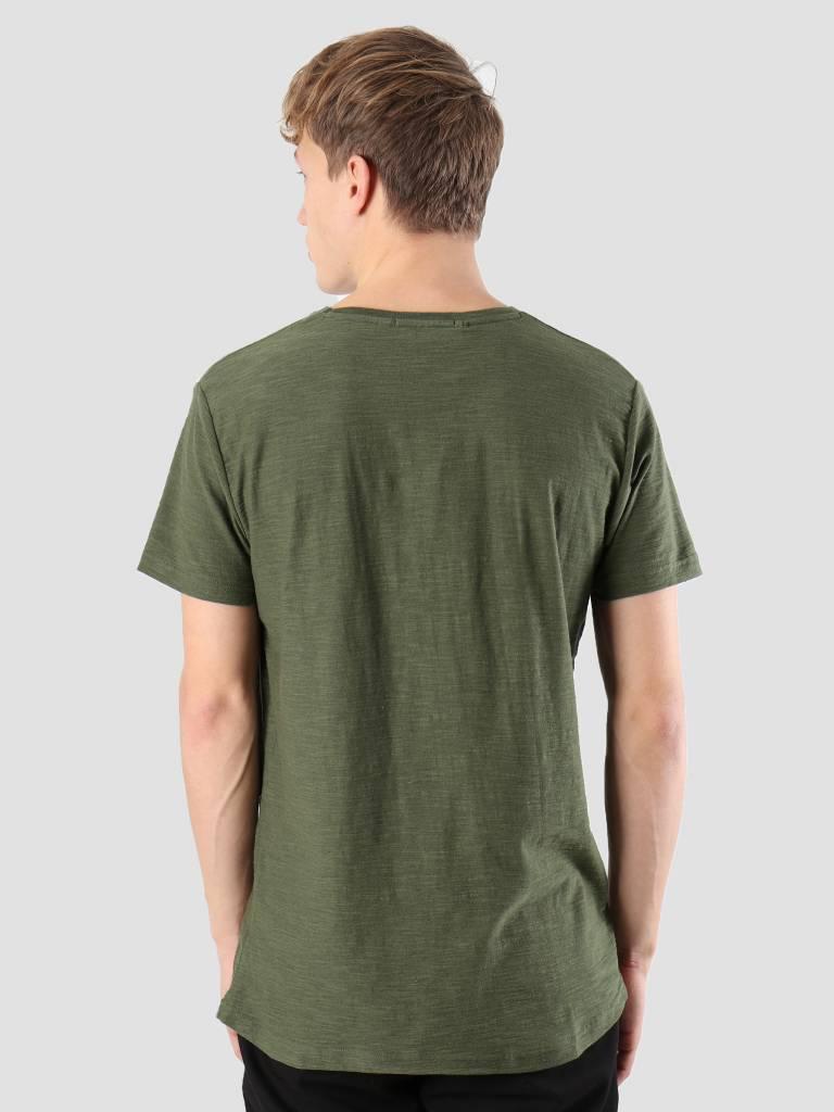 RVLT RVLT Kenneth Printed T-Shirt Army 1951 ROC