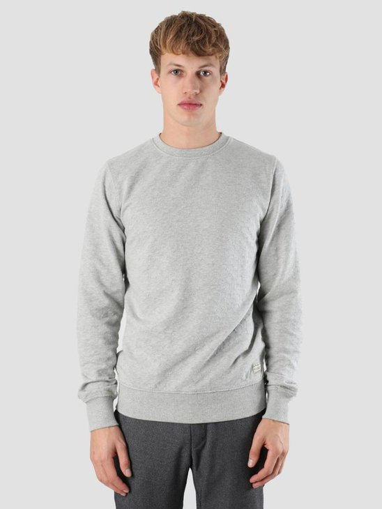 RVLT 3D Structure Sweater Grey 2543