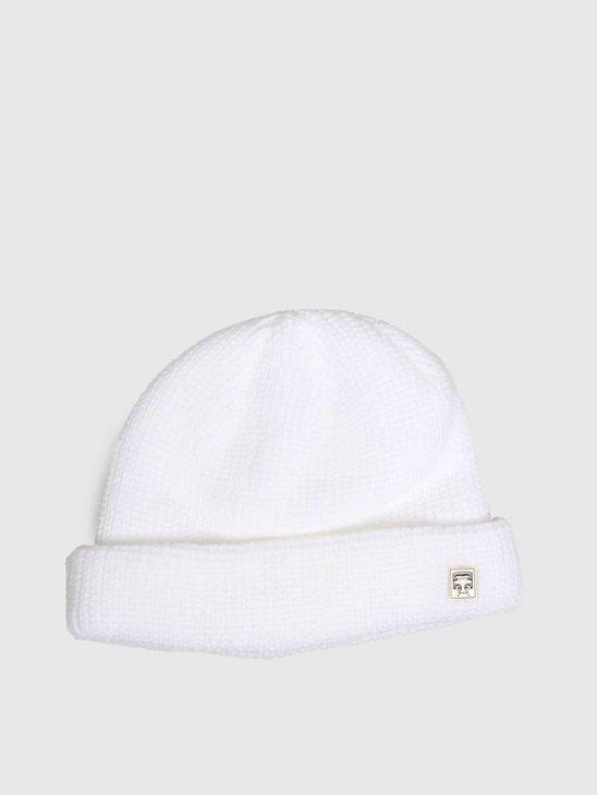 Obey Micro Beanie White 100030125