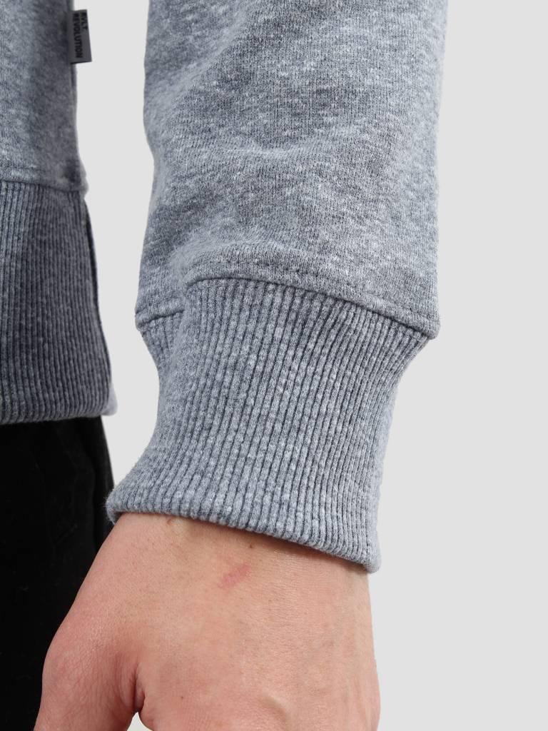 RVLT RVLT Rib Detail Sweater Navy Melange 2005