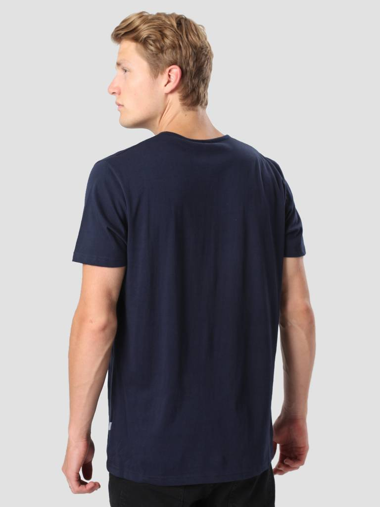 RVLT RVLT Round Neck T-Shirt Navy 1001