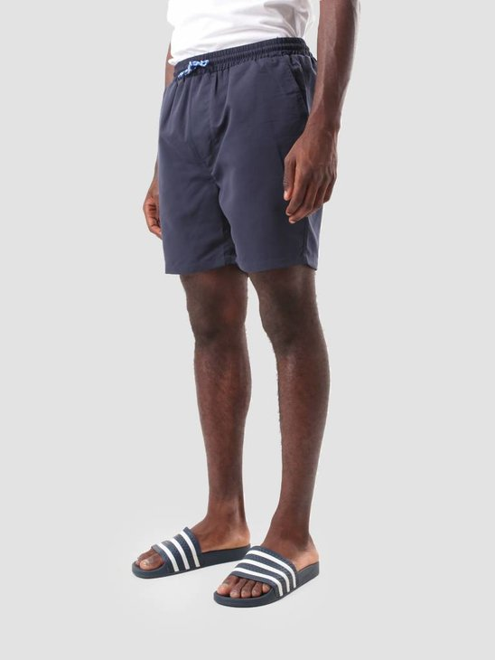 RVLT Poly Shorts Navy 5917