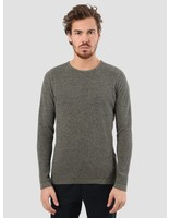 RVLT RVLT Slim Fit Pearl Structure Knit Green 6470