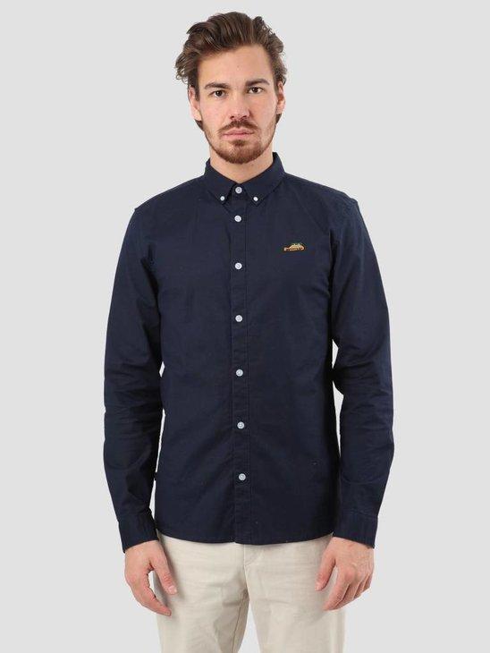 RVLT Oxford Shirt Navy 3623 Wag