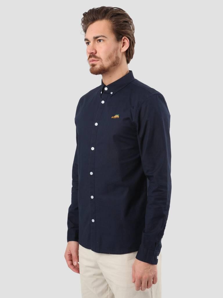 RVLT RVLT Oxford Shirt Navy 3623 Wag