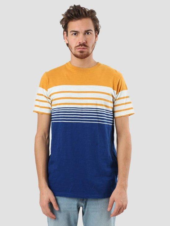RVLT Slub Stripes T-Shirt Yellow 1939