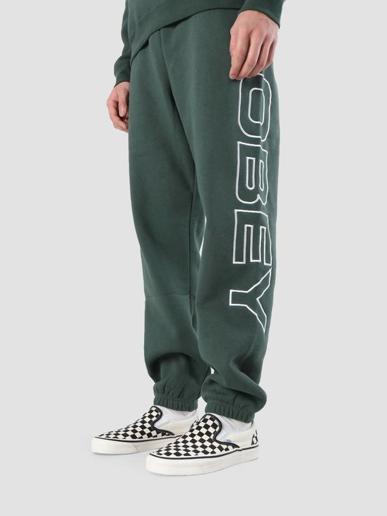 Obey Line Fleece Pants 142030020S-ALP