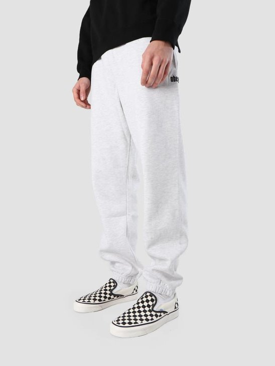 Obey Pulley Fleece Pants 142030022S-AGRY