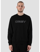 Obey Obey Line Crew 112480047S-BLK