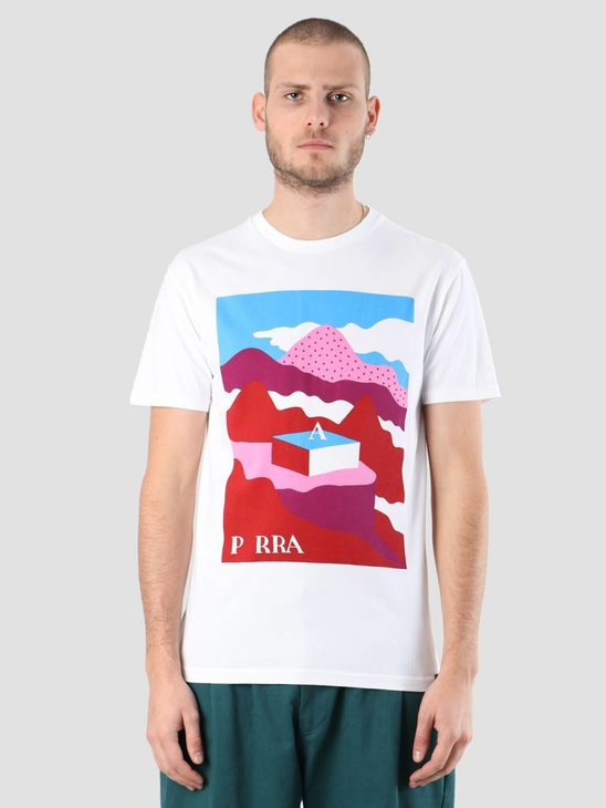 By Parra Lost City Box T-Shirt White 419050