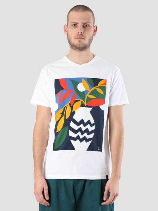By Parra Still Life With Plant T-Shirt White 41860