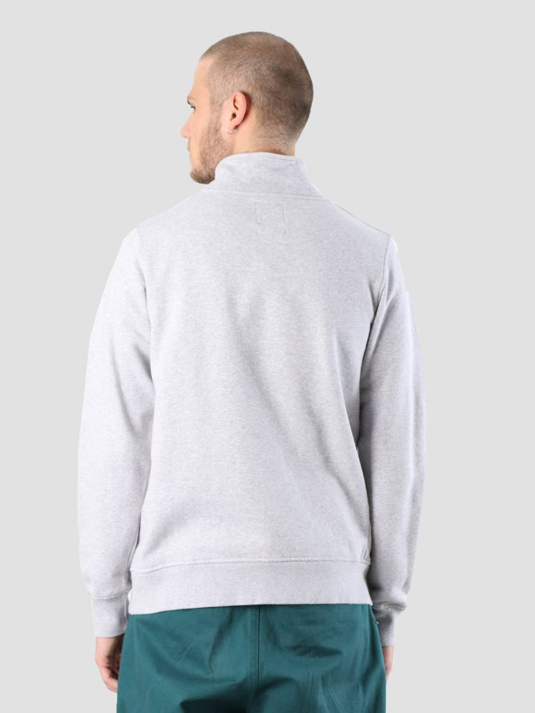 By Parra By Parra Mountains Of 1987 Quarter Zip Pullover Ash Grey 41970