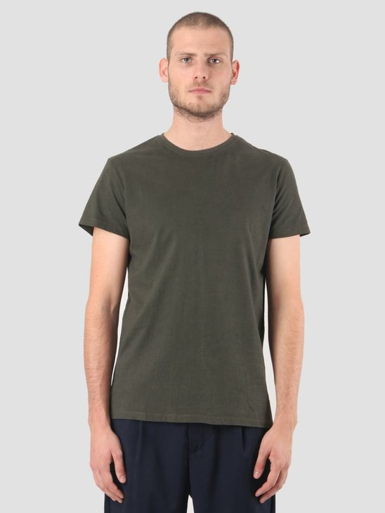 Kronstadt Hey Ho Basic T-Shirt Army KRFH18-KS2455