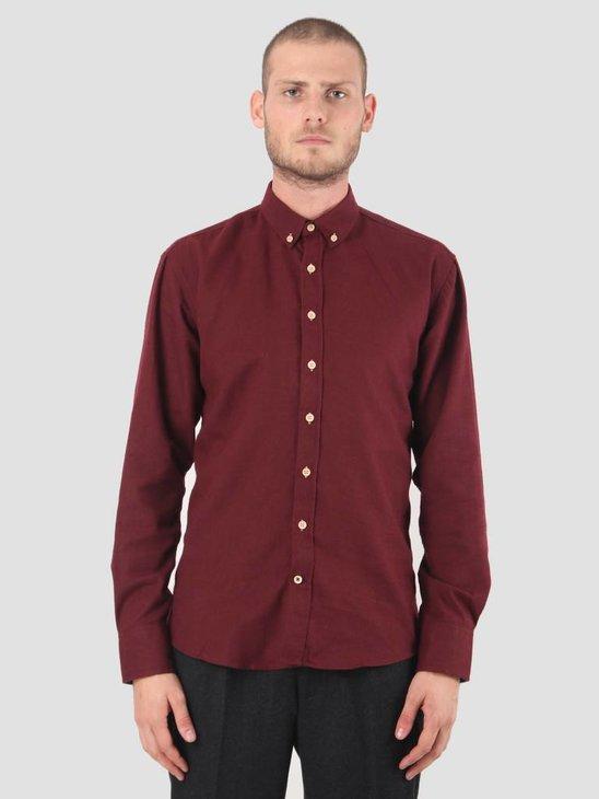 Kronstadt Dean Diego Shirt Bordeaux KRFH18-KS2546