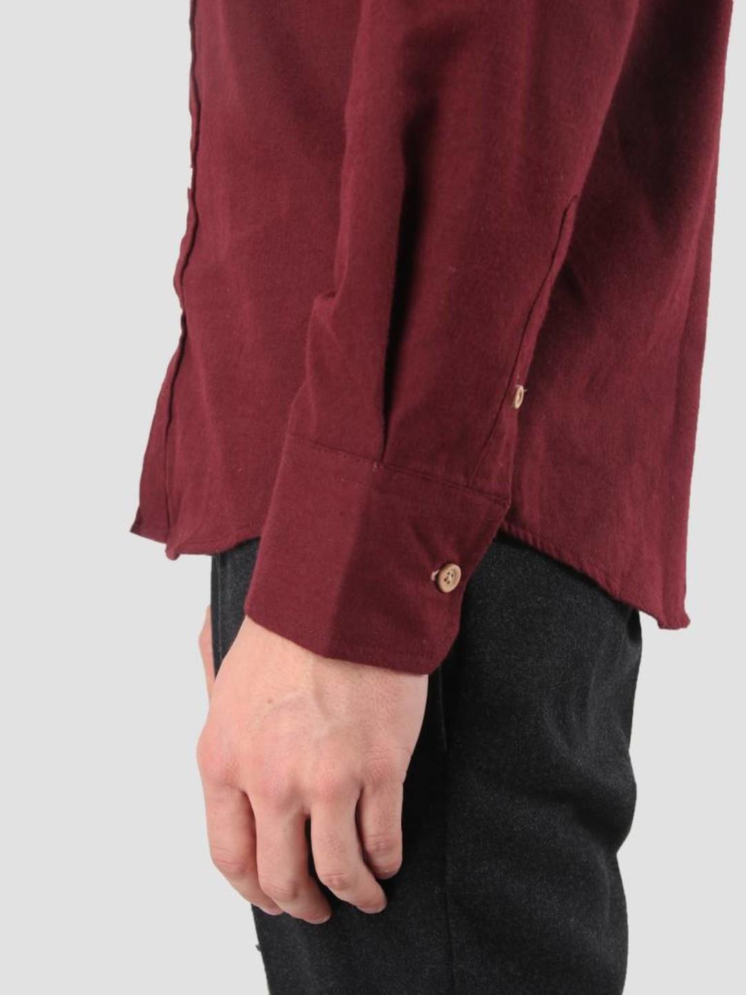 Kronstadt Kronstadt Dean Diego Shirt Bordeaux KRFH18-KS2546
