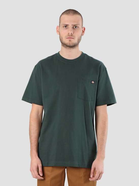 Dickies Pocket T-Shirt Hunter Green WS450