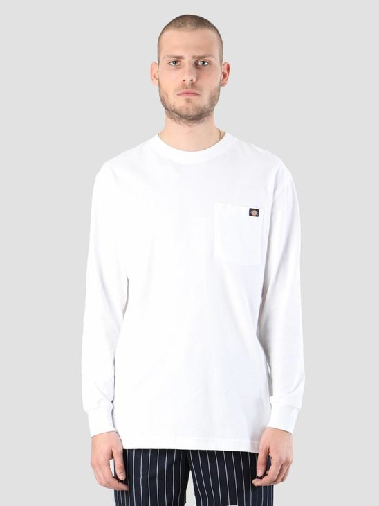 Dickies Pocket Longsleeve White WL450