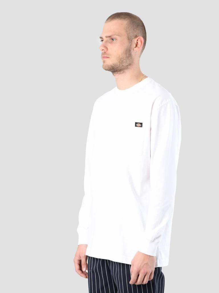 Dickies Dickies Pocket Longsleeve White WL450