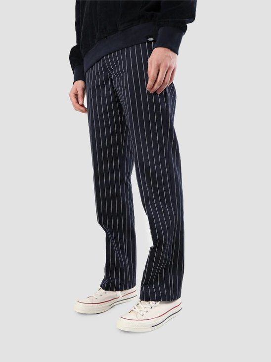 Dickies Stripe Work Pant Dark Blue WP873