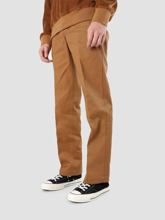 Dickies Work Pant Slim Straight Brown Duck WP873