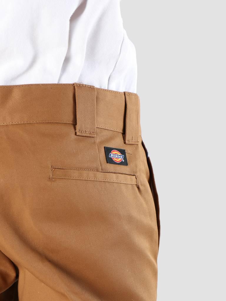 Dickies Dickies Work Pant Slim Straight Brown Duck WP873