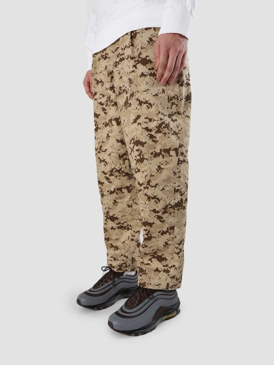 Libertine Libertine Helterskelter Trousers Brown Camo 1576