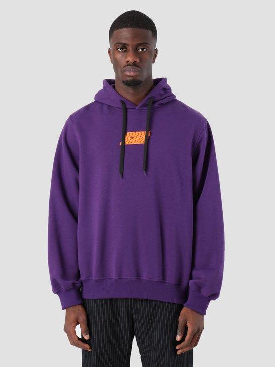 Neige Logo Hoodie Purple AW18017