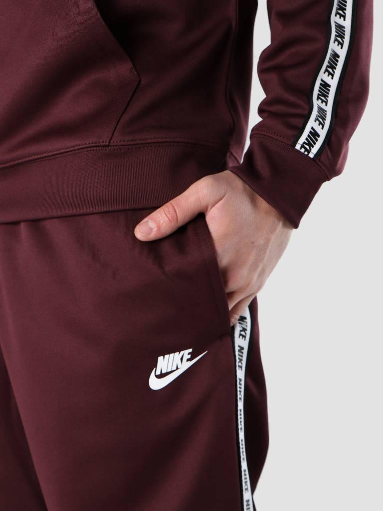 Nike Nike NSW Repeat Pant Poly Burgundy Crush  White Ar4912-652