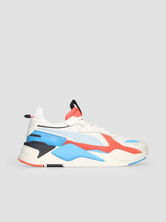 Puma RS X Reinvention Whisper White Red Blast 36957901