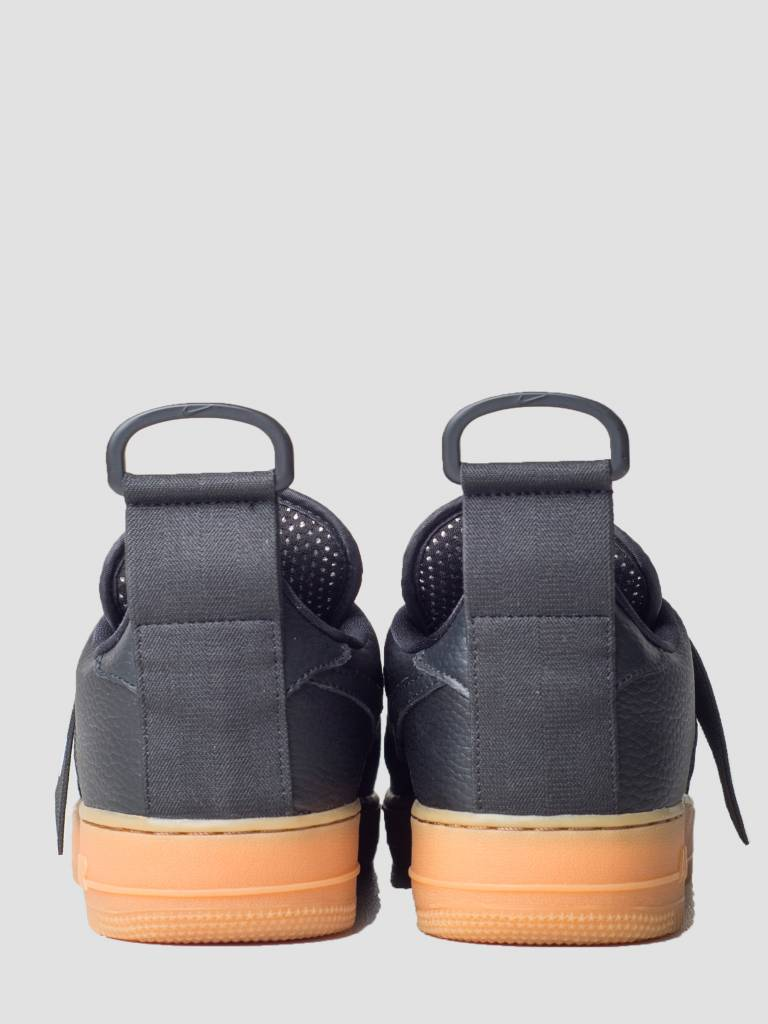 Nike Nike Air Force 1 Utility Black White Gum Med Brown Ao1531-002