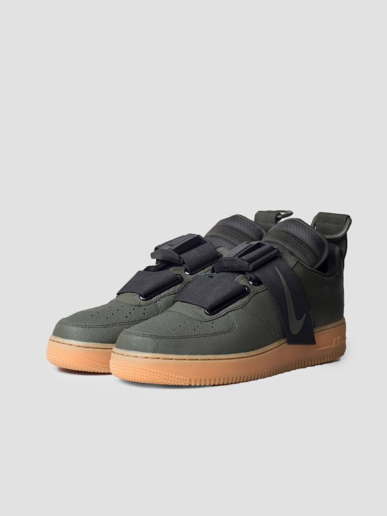 Nike Nike Air Force 1 Utility Sequoia Black Gum Med Brown Ao1531-300