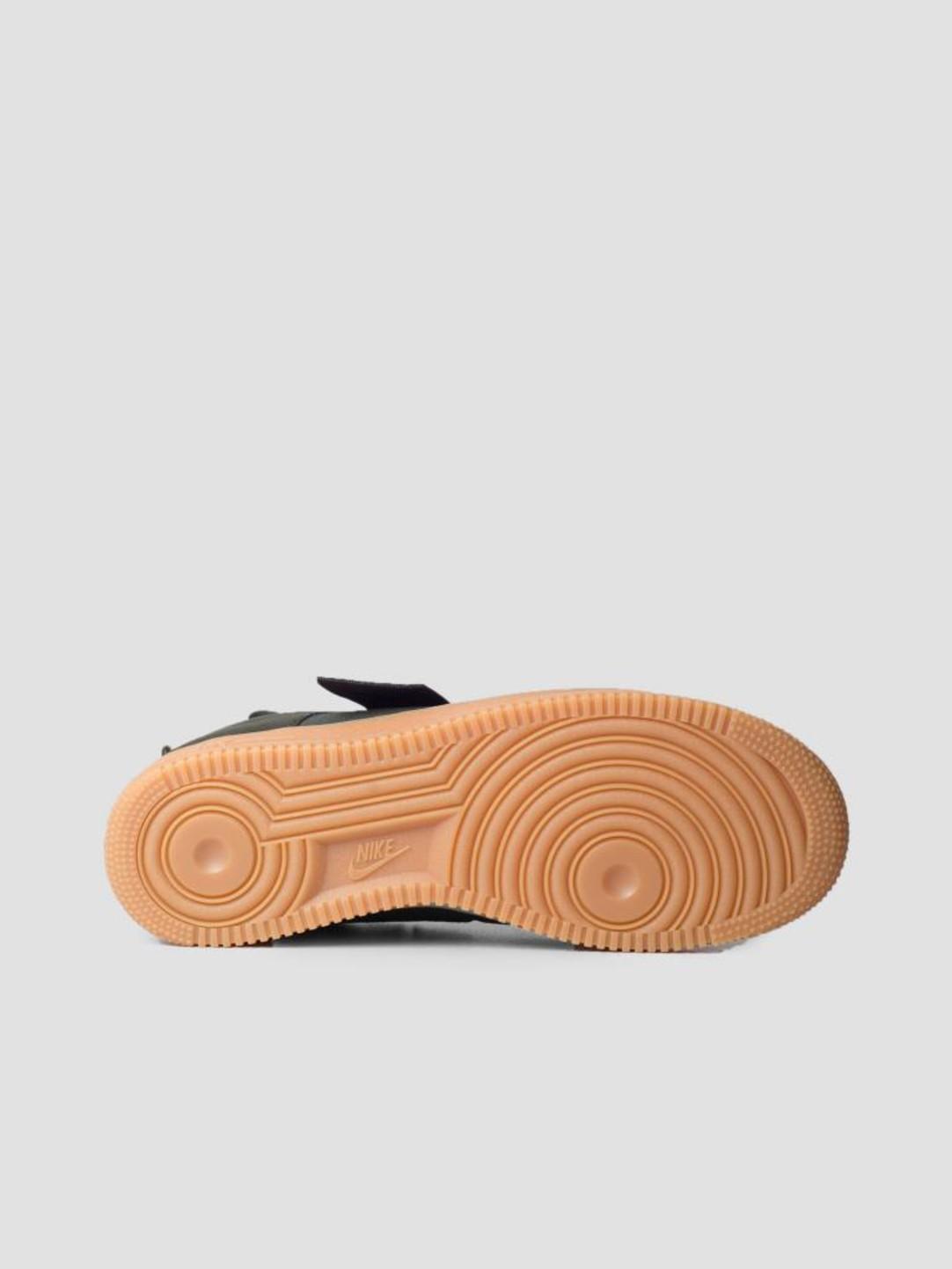 Nike Nike Air Force 1 Utility Sequoia Black Gum Med Brown Ao1531-300