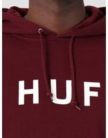 HUF HUF Essentials Og Logo Hoodie Port Royale Pf00099