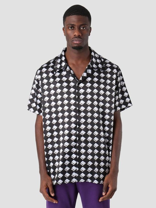 Neige S&S Pattern Shirt Black AW18010