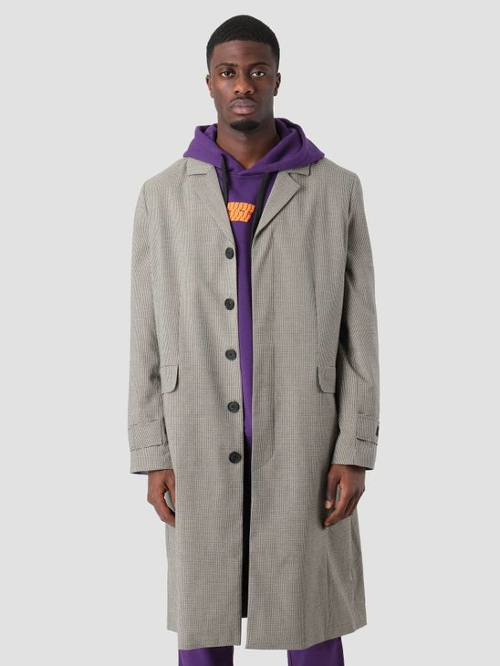 Neige Houndstoth Check Coat AW18031