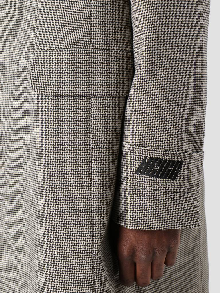 Neige Neige Houndstoth Check Coat AW18031