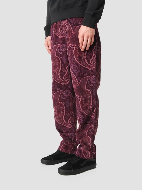 Stussy Side Piping Cord Pant Burgundy 0615
