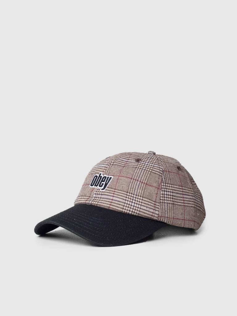 Obey Obey Dayton 6 Panel Hat Khaki multi 100580163-KHA