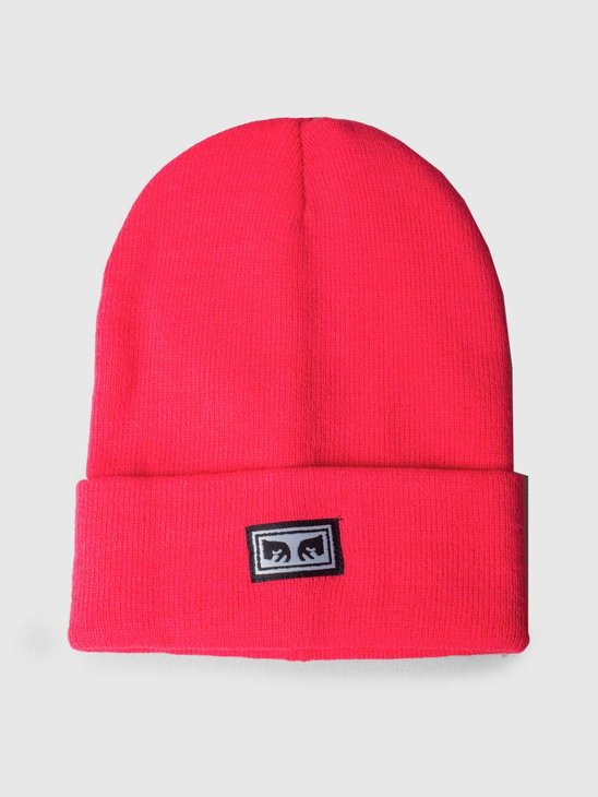 Obey Icon Eyes Beanie Magenta 100030132-MAG