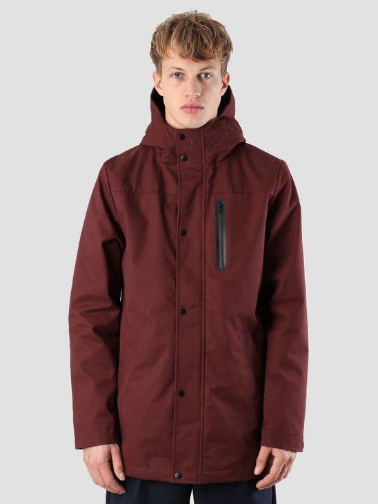 RVLT Villum Parka Jacket Bordeaux 7443