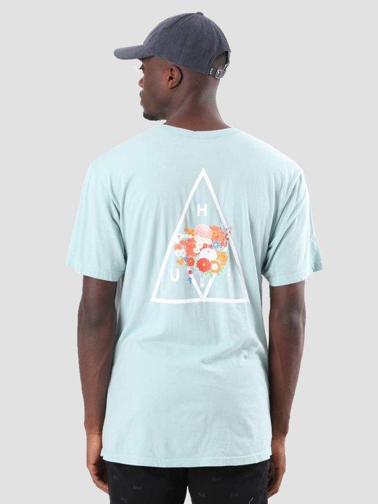 HUF Memorial Triangle T-Shirt Cloud Blue TS00389