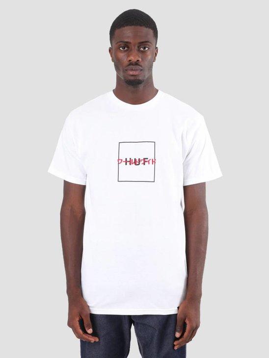 HUF Katakana T-Shirt White TS00368