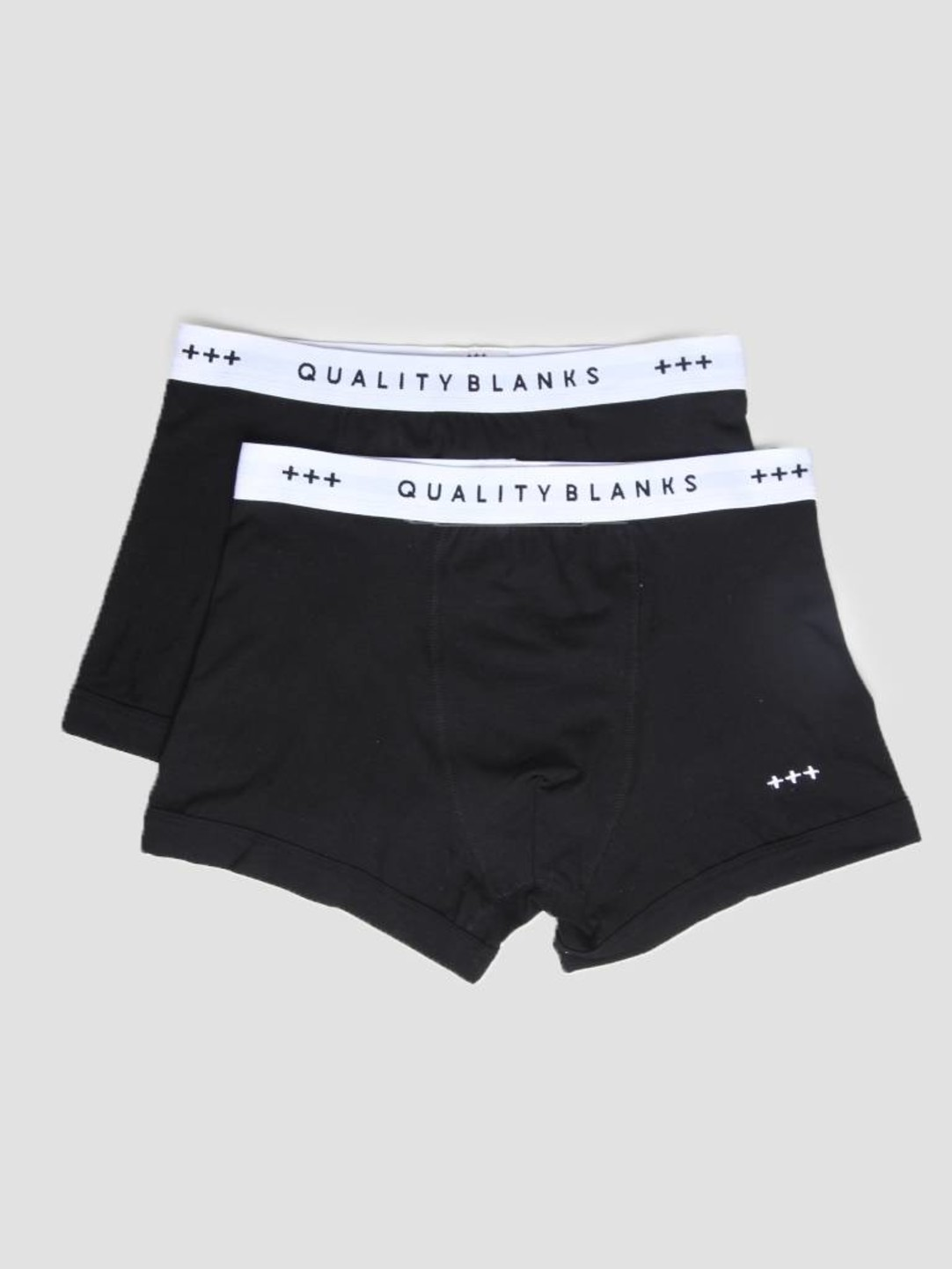 Quality Blanks Quality Blanks QB04 2-pack Trunks Black Black