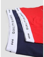 Quality Blanks Quality Blanks QB04 2-pack Trunks Navy Red