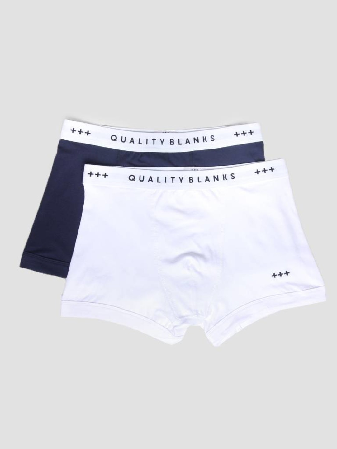 Quality Blanks Quality Blanks QB04 2-pack Trunks Navy White