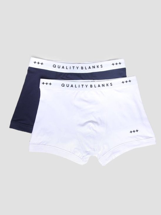 Quality Blanks QB04 2-pack Trunks Navy White