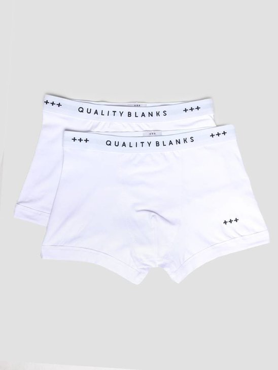 Quality Blanks QB04 2-pack Trunks White White