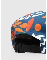By Parra By Parra Still Life With Plants 5 Panel Volley Hat Ripstop Nylon 41940